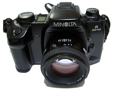 MINOLTA α507si
