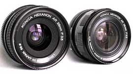 HEXANON AR 28mm f3.5