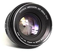 HEXANON AR 50mm f1.7