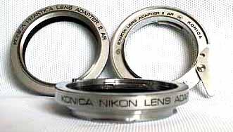 KONICAの純正レンズマウントアダプター